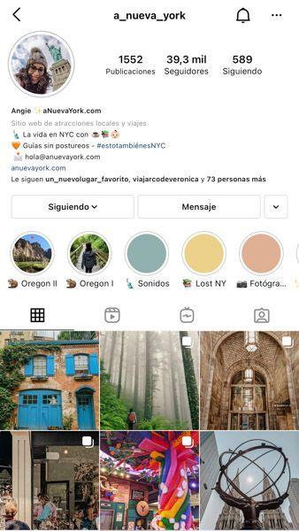 Las 10 mejores cuentas de Instagram de viajes: A_nueva_york